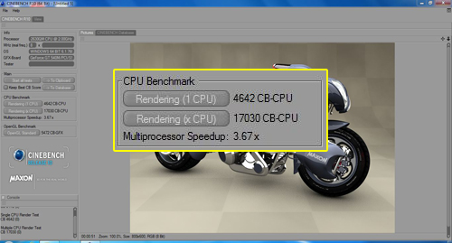 CINEBENCH R10